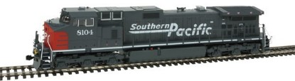 Picture of GE C44-9W - Standard DC -- Southern Pacific