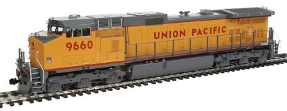 Picture of GE C44-9W - Standard DC -- Union Pacific #9660