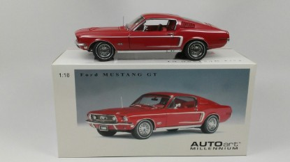 Picture of Ford Mustang GT 390  red    1968 Millennium