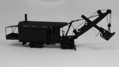 Picture of Marion 20 steam rail shovel     painted, brass