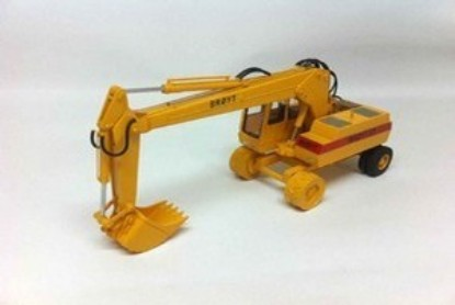 Picture of Broyt X31 wheel excavator - yellow