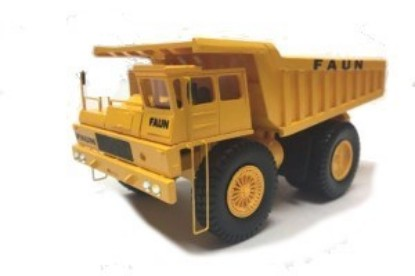 Picture of Faun K80/W 4×2  mine dump yellow