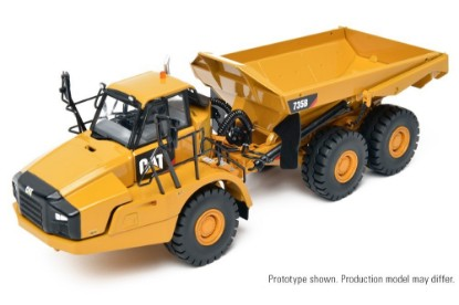 Picture of Cat 735B articulated dump truck