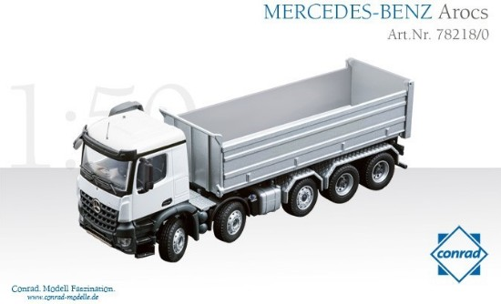 Picture of Mercedes Arocs 5-Axle w/2-Sided Dump Body