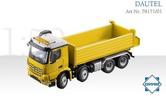 Picture of MB AROCS Dautel 3 way dump