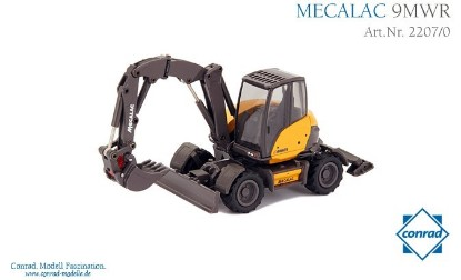 Picture of Mecalac 9 MWR wheel excavator