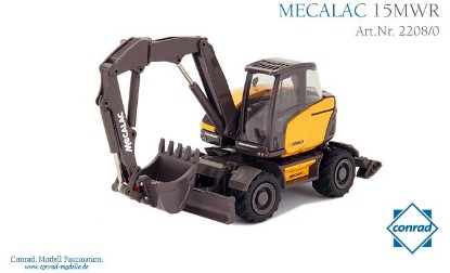 Picture of Mecalac 15 MWR wheel excavator
