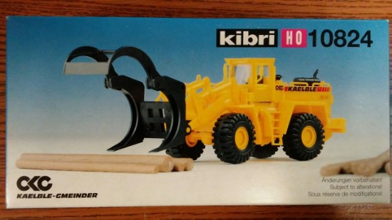 Picture of Kaelble Wheel Loader with log grapple