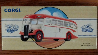 Picture of AEC Regal bus  WALLACE ARNOLD