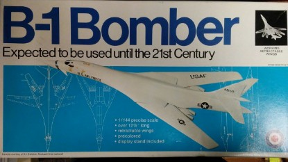 Picture of B-1 bomber