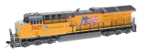 Picture of Union Pacific C45ah Tier 4 Locomotive with sound