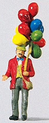 Picture of Man Selling Balloons