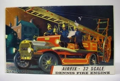 Picture of Dennis 1914 fire truck