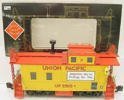 Picture of Aristo Craft Steel/Long Caboose Union Pacific