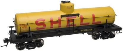 Picture of 8,000 Gallon Tank Car- SHELL