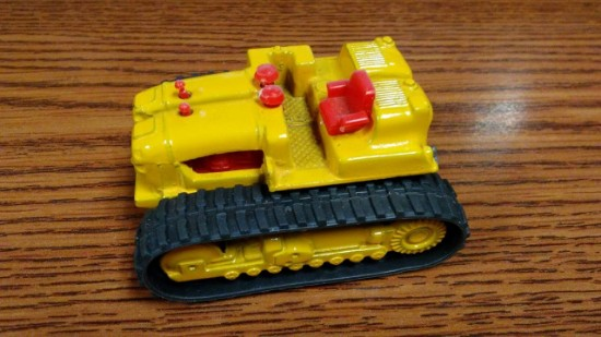 Picture of Euclid 82-80 crawler tractor  - yellow