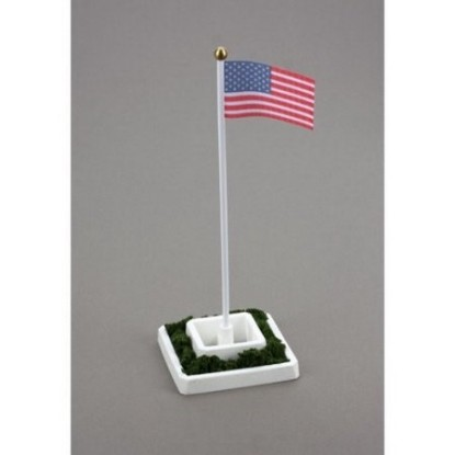 Picture of Waving US Flag, 50 Stars -electronic