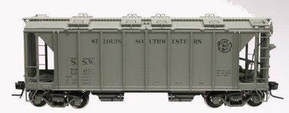 Picture of 70 Ton Covered Hopper Car - Cotton Belt