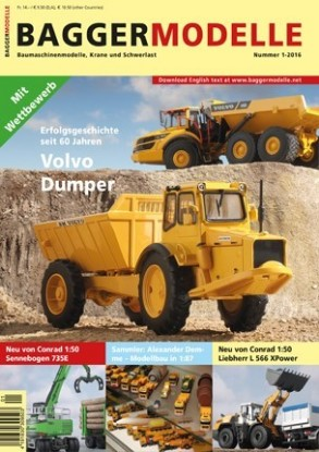 Picture of Baggermodelle 1-2016 German- English download