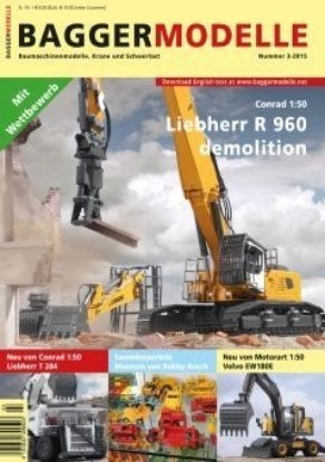 Picture of Baggermodelle 3-2015 German- English download