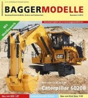 Picture of Baggermodelle 6-2015 German- English download