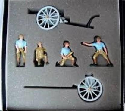 Picture of 13 Lb gun + limber + 4 men