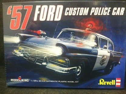 Picture of 1957 Ford Custom Police Car