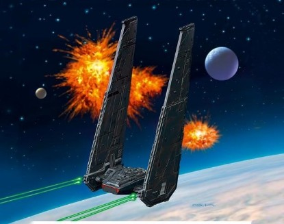 Picture of Star Wars - Kylo Ren's Command Shuttle
