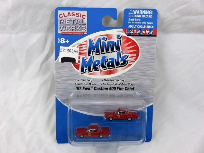 Picture of 1967 Ford Custom 500 Fire Chief (set of 2)