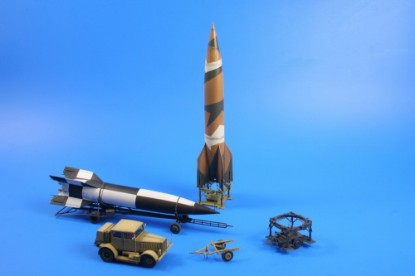 Picture of German missile V-2