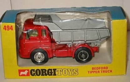 Picture of Bedford dump truck