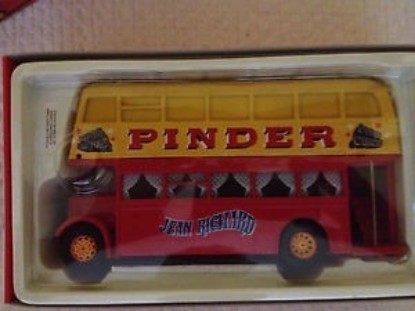 Picture of Bus Daimler double Etage  Pinder Circus Bus