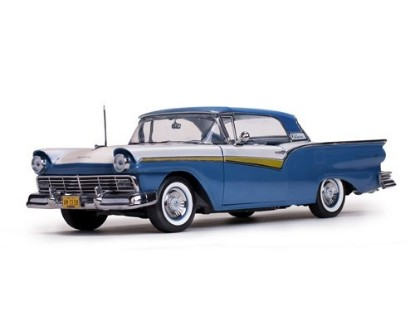 Picture of 1957 Ford Fairlane 500 Skyliner w/ Retractable Hardtop blue/white