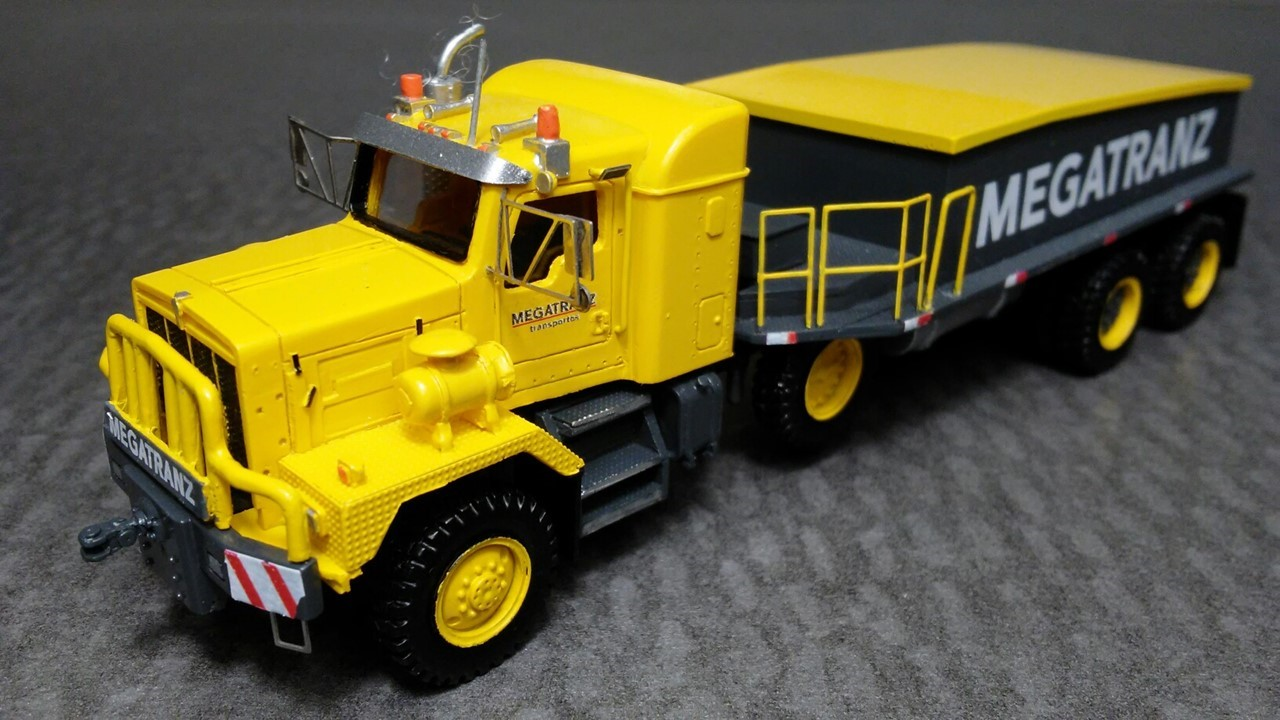 Picture of Kenworth C500 Megatranz 6x4 prime mover Yellow decaled