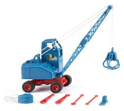 Picture of 1959 Fuchs F 301 Excavator - Assembled - Blue