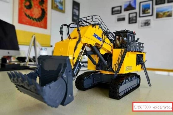 Picture of XCMG XE7000 hydraulic mining shovel