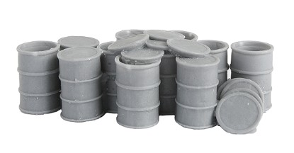 Picture of 55-Gallon Drums w/Open Tops -- Unpainted