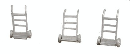 Picture of Hand Cart - Kit -- pkg(3) - unpainted