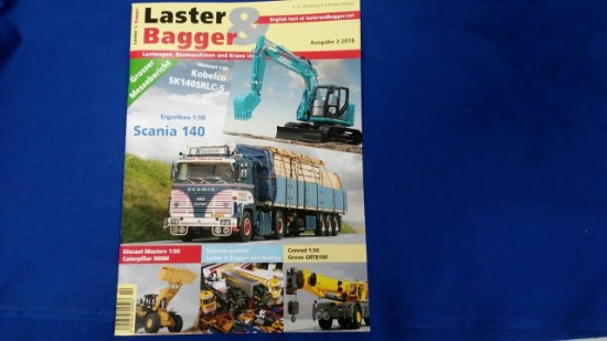 Picture of Laster & Bagger 2-2018 German- English download