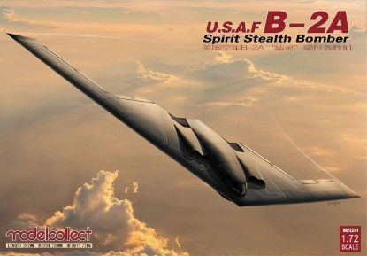 Picture of USAF B-2A Spirit Stealth Bomber