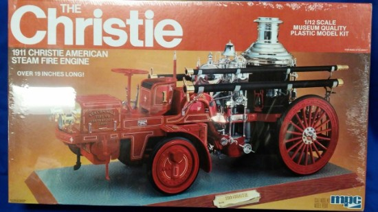 Picture of Christie 1911 Steam Fire Engine