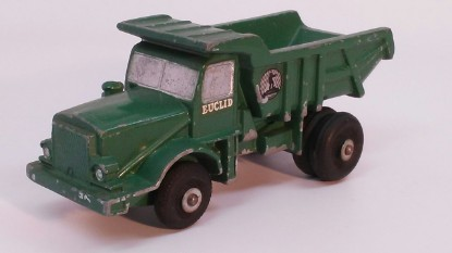 Picture of Euclid dump truck