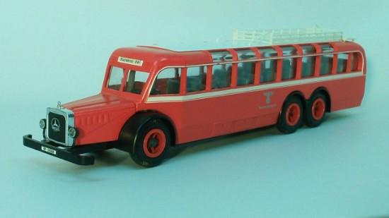 Picture of Mercedes-Benz  0 1000 bus  DEUTSCHE REICHSPOST