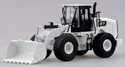 Picture of Caterpillar 950GC wheel loader - white