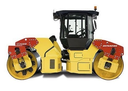 Picture of Dynapac  CC424 roller with cab