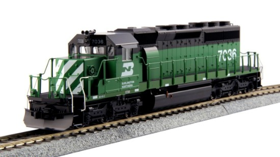 """Picture of EMD SD40-2 Mid BN """"Standard"""" #7036"""