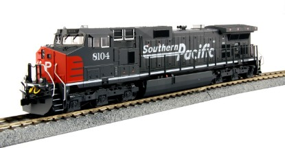"Picture of GE C44-9W Southern Pacific ""Bloody Nose"" #8104"