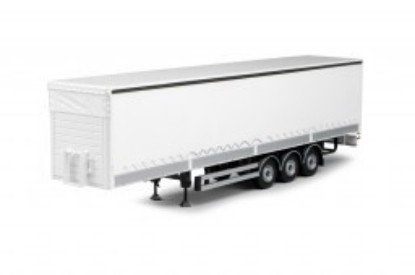Picture of T.B. curtainsider trailer with dropsides