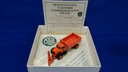 Picture of Dump Truck with Plow,  PA Turnpike