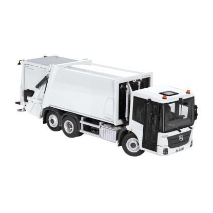 Picture of MB Faun Variopress garbage truck - white